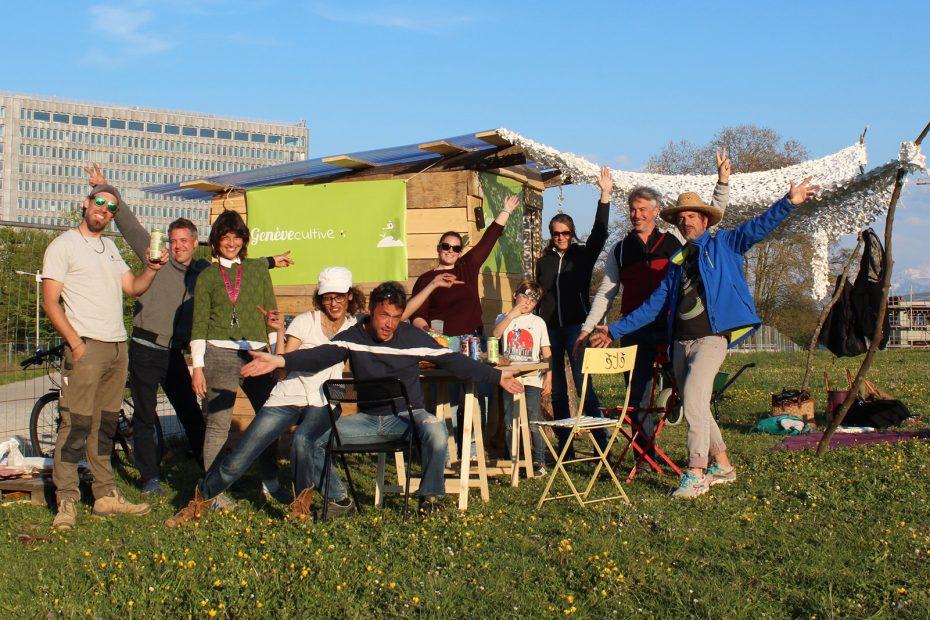 équipe potager des nations genève cultive jardin urbain genève agriculture urbaine comment faire un potager urbain guide du nouveau jardinage